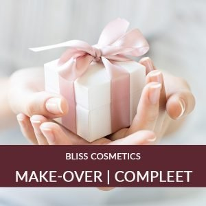 Complete Make-over cadeaubon Natuurlijke & Vegan make-up Bliss Cosmetics BEAUTY AND MORE ...