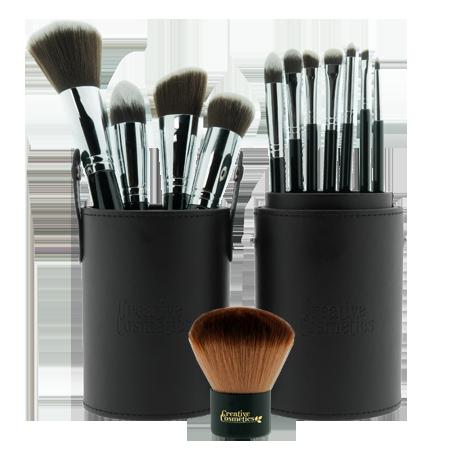 Kwastenset Compleet kwast Natuurlijke & Vegan make-up Bliss Cosmetics BEAUTY AND MORE ...